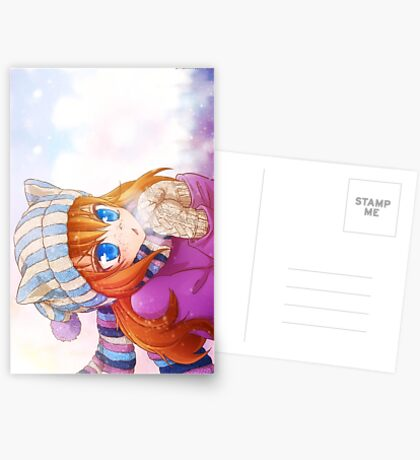 Winter Ada Greeting Card