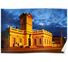 Deniliquin Town Hall Poster