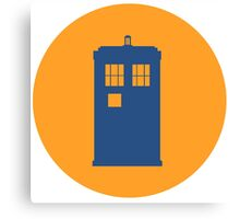 Doctor Who Icon Canvas Print