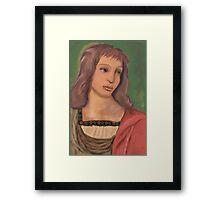 The Angel after Raphael Framed Print