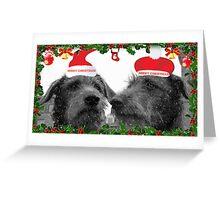 holy jolly christmas Greeting Card