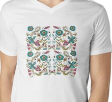 Flora One Mens V-Neck T-Shirt