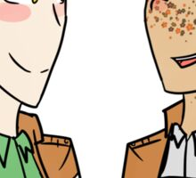 Jean and Marco Sticker