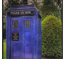 TARDIS by Scott  Andrew
