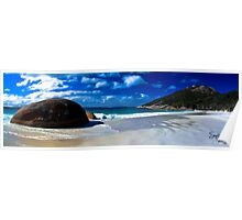 Little Beach Panorama Poster