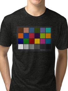 Color Checker Chart Tri-blend T-Shirt