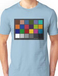 Color Checker Chart Unisex T-Shirt