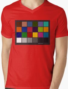 Color Checker Chart Mens V-Neck T-Shirt