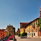 Italian Town by MaluC