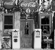 Gas Pumps by Dennis  Roy Smigel