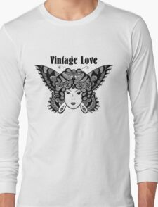 vintage love Long Sleeve T-Shirt