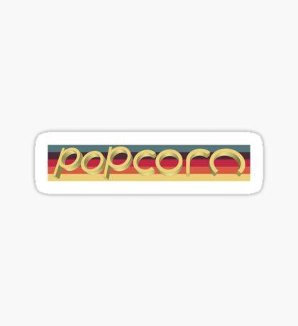 popcorn Sticker