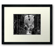 Art Beckons... Framed Print