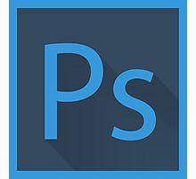 Photoshop Logo Photographic Print