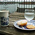 Tea Time over Kinsale Harbor by Alice McMahon