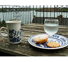 Tea Time over Kinsale Harbor Photographic Print