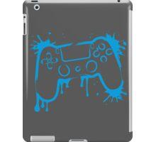Playstation 4 Controller (Splatter) iPad Case/Skin