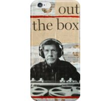 Outside The Box iPhone Case/Skin