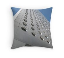 China City Circles Throw Pillow