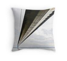 Humber Bridge Throw Pillow