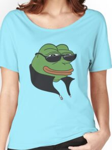 Cool Pepe t-shirt - Pepe the Frog Women's Relaxed Fit T-Shirt