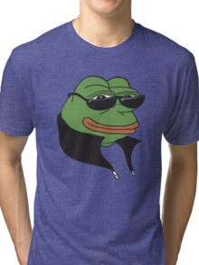 Cool Pepe t-shirt - Pepe the Frog Tri-blend T-Shirt