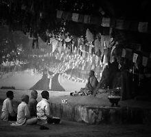 Buddhist Followers by Kingston  Liu
