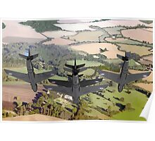 The Black Arrows: Hawker Hunters of 111 Squadron Poster