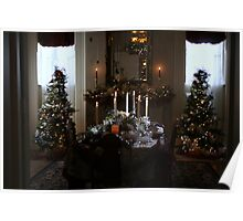 Christmas Dinner At The Mansion Poster