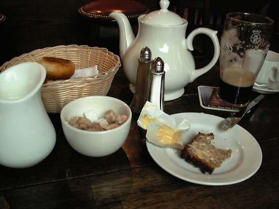 A Pint and Tea with Lunch? by Alice McMahon