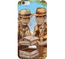 The Beekeeper Detectives iPhone Case/Skin