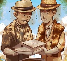 The Beekeeper Detectives by elizakaze