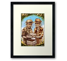 The Beekeeper Detectives Framed Print