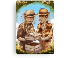 The Beekeeper Detectives Canvas Print