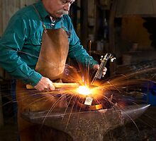 Forging the Mandolin by Andy Heatwole
