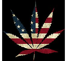 United States - Legalize Marijuana Photographic Print