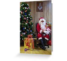 Santa Alki Lodge 22 Greeting Card