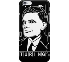 Alan Turing Tribute iPhone Case/Skin