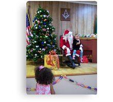 Alki Lodge Santa 2285 Canvas Print