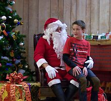 Alki Lodge Santa 2288 by Kristin Bennett