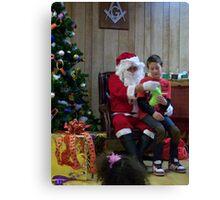 Alki Lodge Santa 2291 Canvas Print
