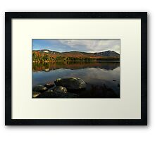 A view from Kidney Pond, Baxter SP Framed Print