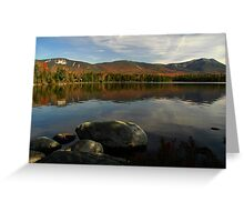 A view from Kidney Pond, Baxter SP Greeting Card
