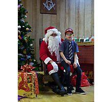Alki Lodge Santa 2293 Photographic Print