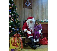 Alki Lodge Santa 2296 Photographic Print