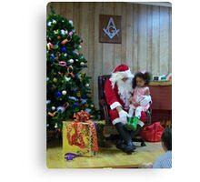 Alki Lodge Santa 2306 Canvas Print