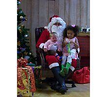 Alki Lodge Santa 2312 Photographic Print