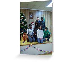 Alki Lodge Santa 2315 Greeting Card