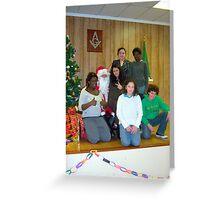 Alki Lodge Santa 2316 Greeting Card