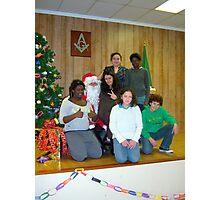 Alki Lodge Santa 2316 Photographic Print